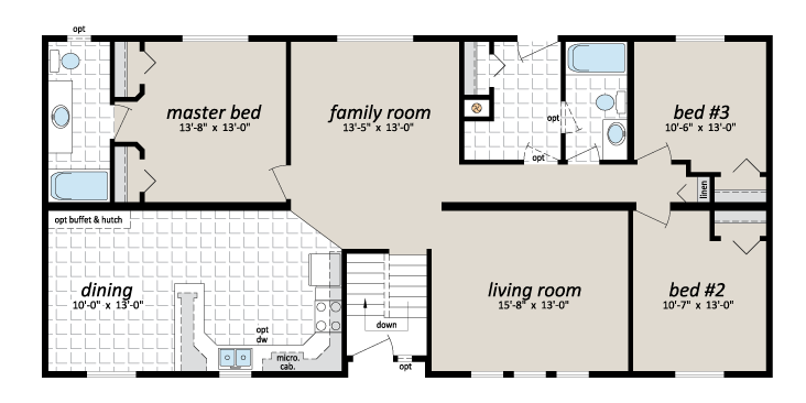 NSM 735 floorplan
